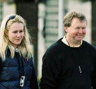 Cathy and Brian Grassick at Goffs