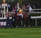 Sadlers Rock at Goodwood - his dam was purchased by Brian Grassick Bloodstock for Rockfield Farm